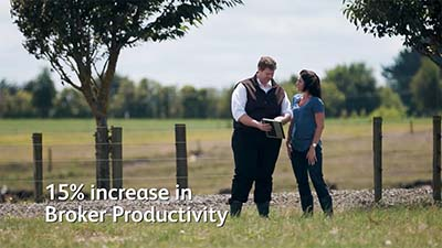15% increase in Broker Productivity