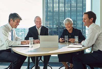 NZ Funds office meeting